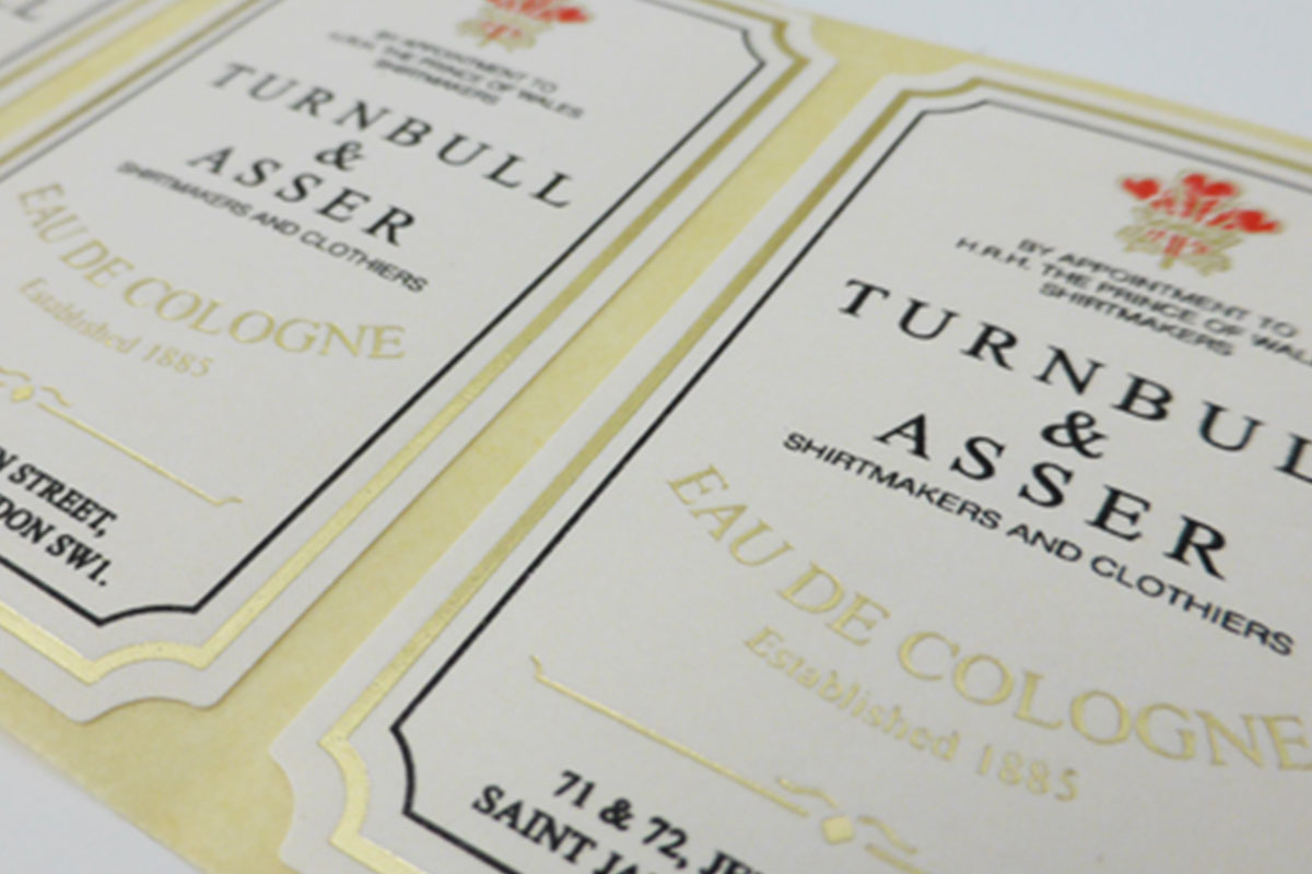 Letterpress Printed Labels