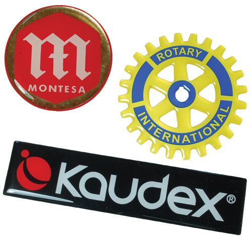 Resin Domed Labels