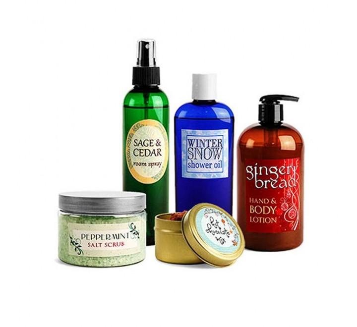 Custom Bath & Beauty Labels