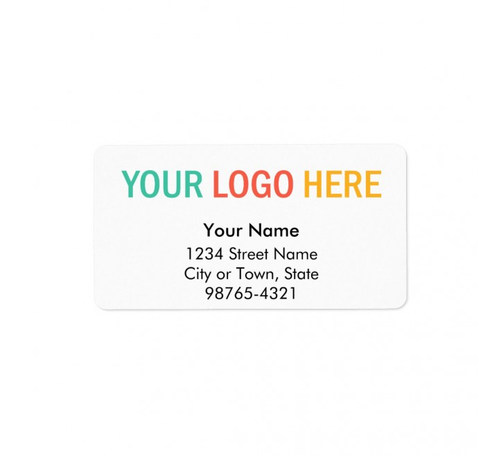 Rectangle Block-out Vinyl Labels (Glossy)