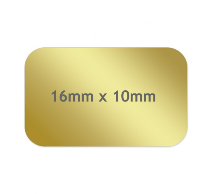 Rectangle Cosmetic Labels