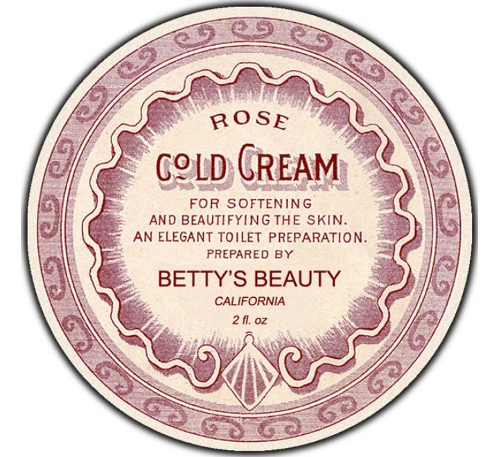 Round Bath & Beauty Labels