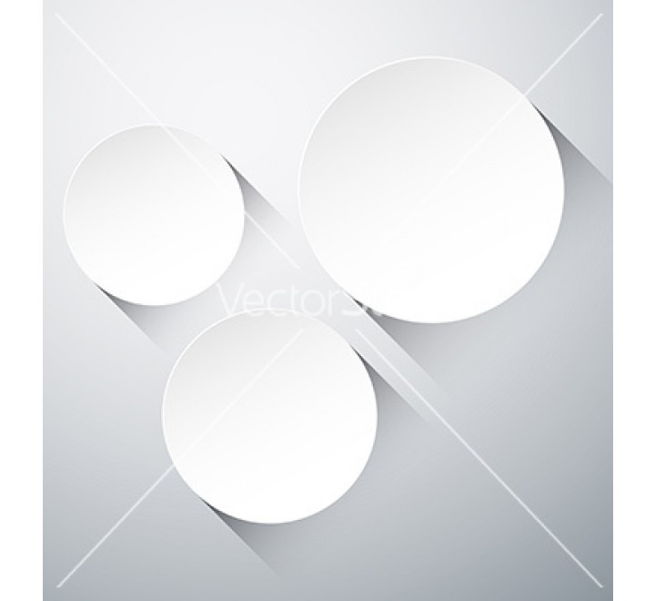 Round paper labels