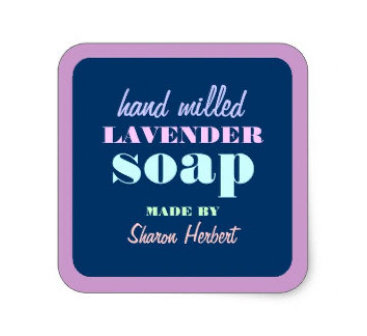 Square Soap Labels