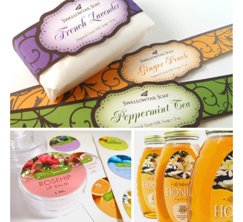 Custom Soap Labels