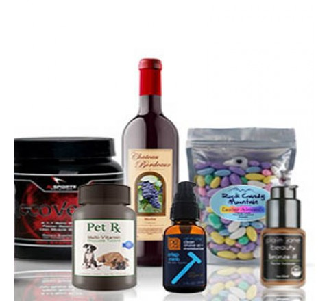 Die Cut Nutraceutical Product Labels