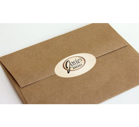 Oval Shipping & Mailing Labels