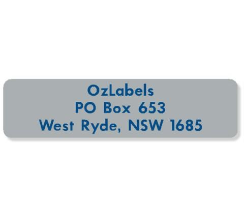 Rectangle Address Labels