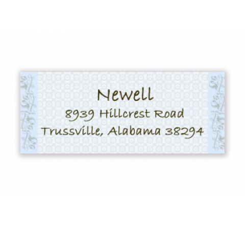 Rectangle Return Address Labels