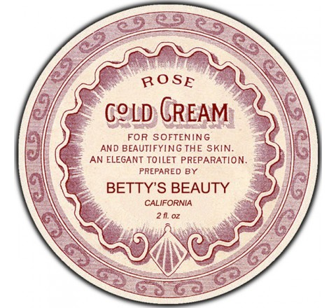 Round Bath & Beauty Labels