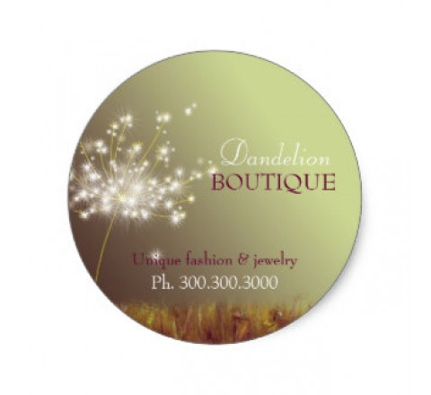 Round Business Labels