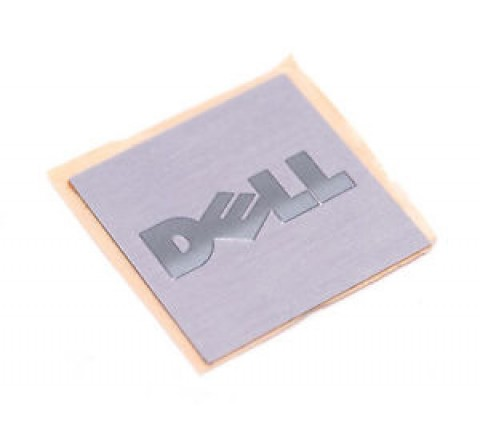 Square Brushed Aluminium Labels